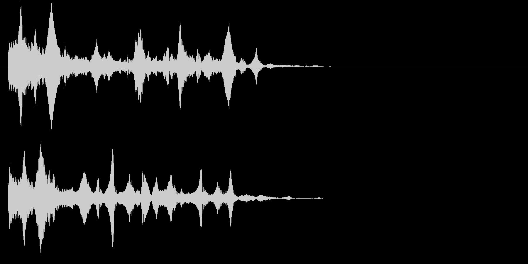 場面転換/水中・泡・深海の未再生の波形