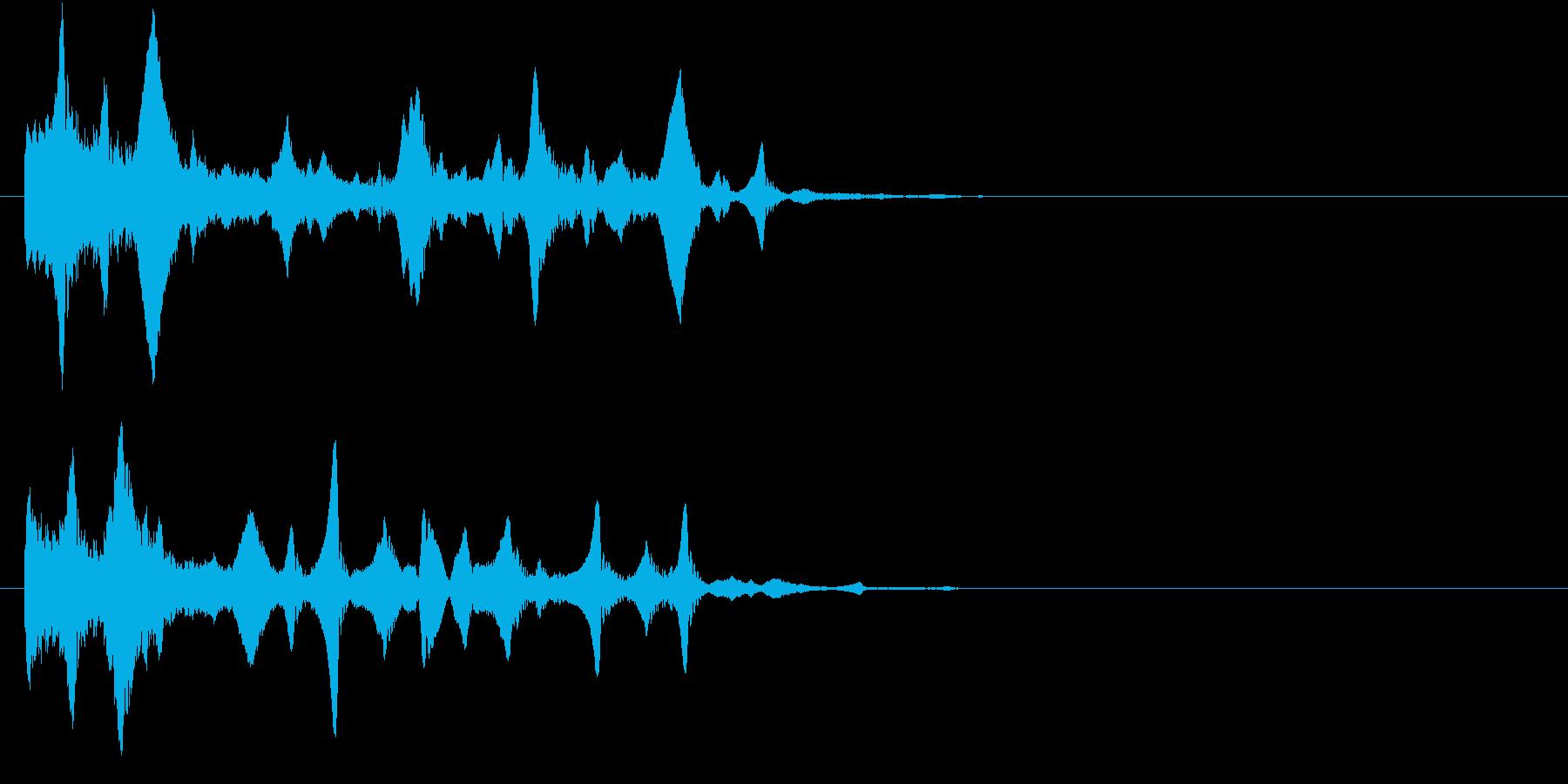 場面転換/水中・泡・深海の再生済みの波形