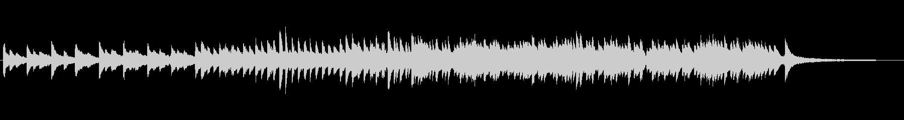1分でパッヘルベルのカノン ピアノソロの未再生の波形