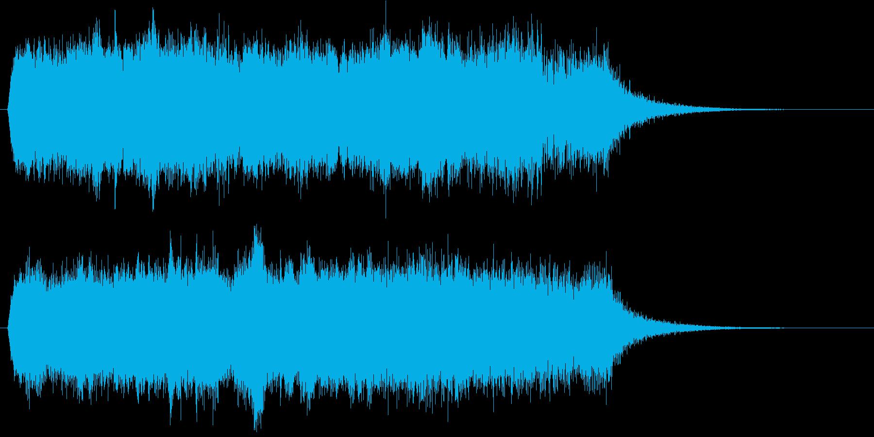機械 レーシングカーシンセ06の再生済みの波形