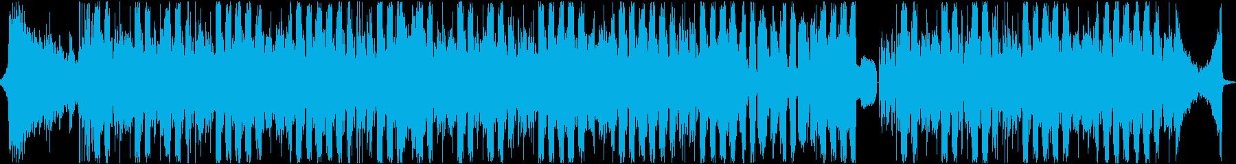 エスニックな雰囲気のコンプレクストロの再生済みの波形