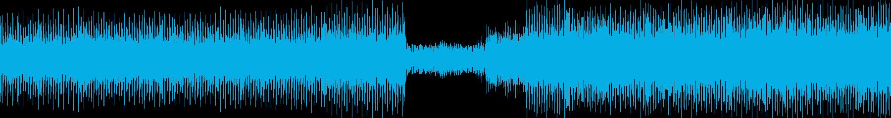 疾走・緊張・逃走・時間制限・戦闘の曲の再生済みの波形
