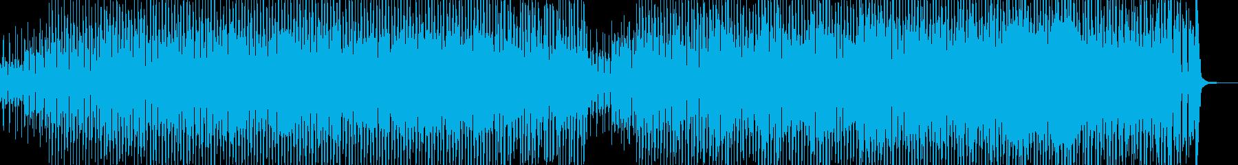 跳ねるメロディ・お祭り騒ぎなジャズ Aの再生済みの波形