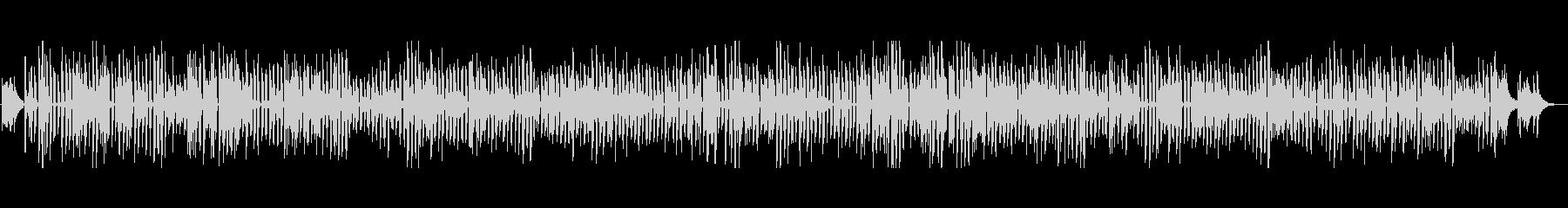 アコースティックギターのブルースの未再生の波形