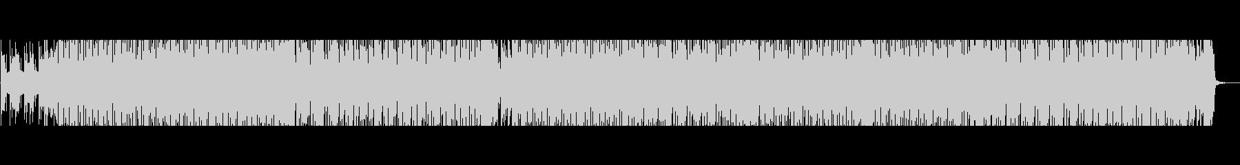 和楽器を使ったリズミカルなポップスの未再生の波形