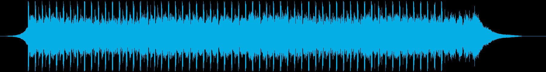 機関(ショート)の再生済みの波形