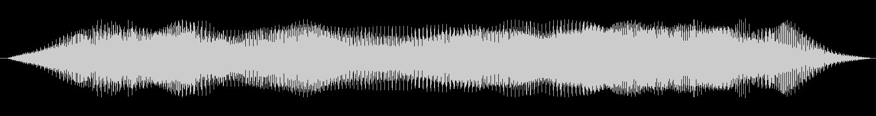 ドローン わずかなutter音01の未再生の波形