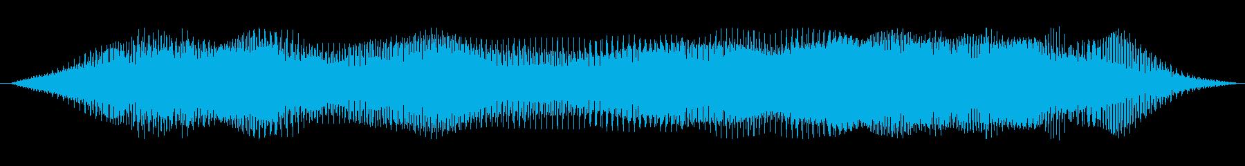 ドローン わずかなutter音01の再生済みの波形