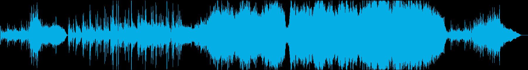 ストリングスとホルンが印象的なバラードの再生済みの波形