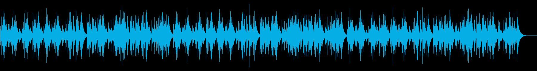 ジングルベル カード式オルゴールの再生済みの波形