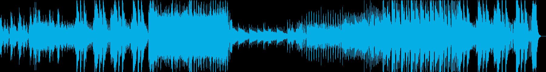 ド派手なEDM FutureBassの再生済みの波形