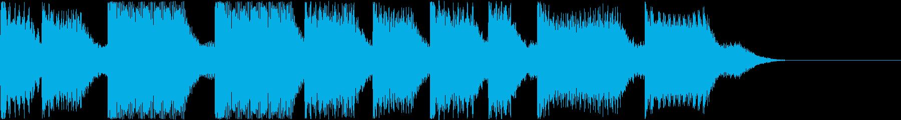 AI メカ/ロボ/マシン動作音 9の再生済みの波形