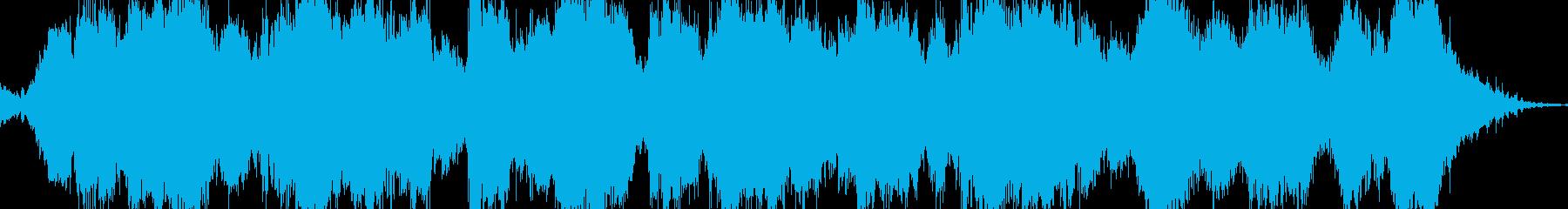 奇妙なサスペンス映画のようなBGMの再生済みの波形