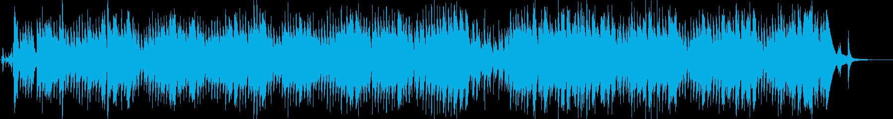 夜の小粋なアーバンJAZZピアノトリオの再生済みの波形
