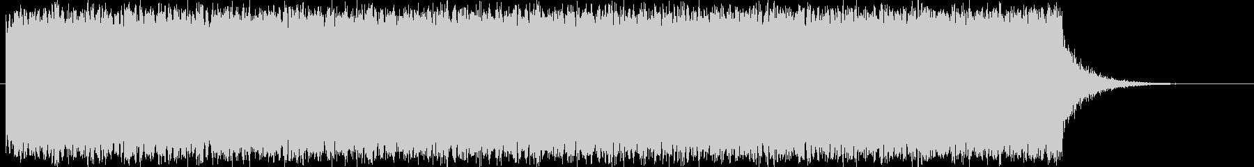 アラーム音・警報音|シンプルの未再生の波形