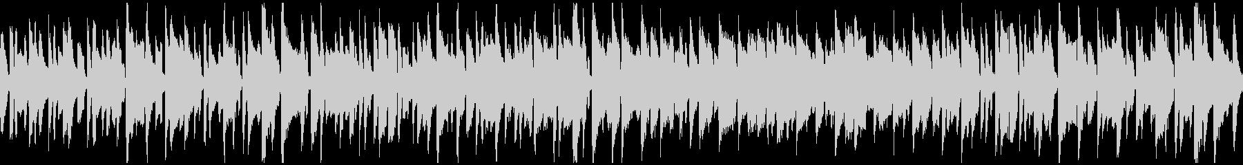 すっとぼけ系の劇伴、リコーダー※ループ版の未再生の波形