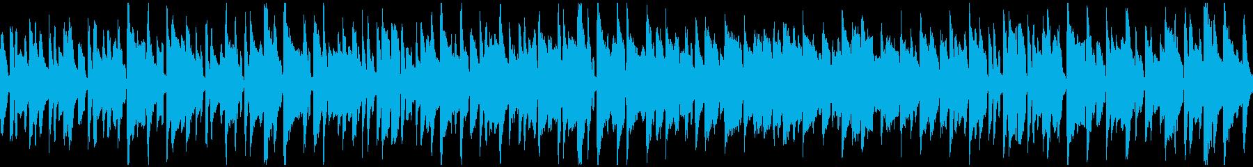 すっとぼけ系の劇伴、リコーダー※ループ版の再生済みの波形
