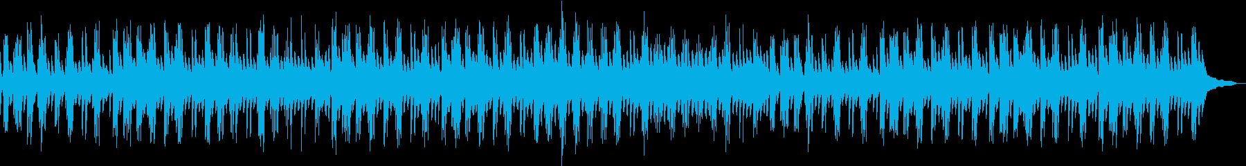 サスペンス風なピアノ音楽の再生済みの波形
