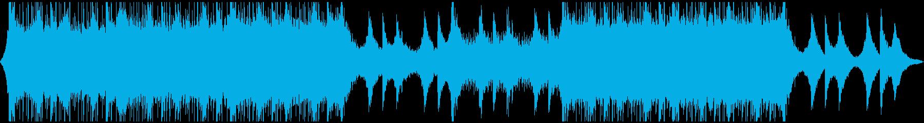デジタル広告企業音楽の再生済みの波形
