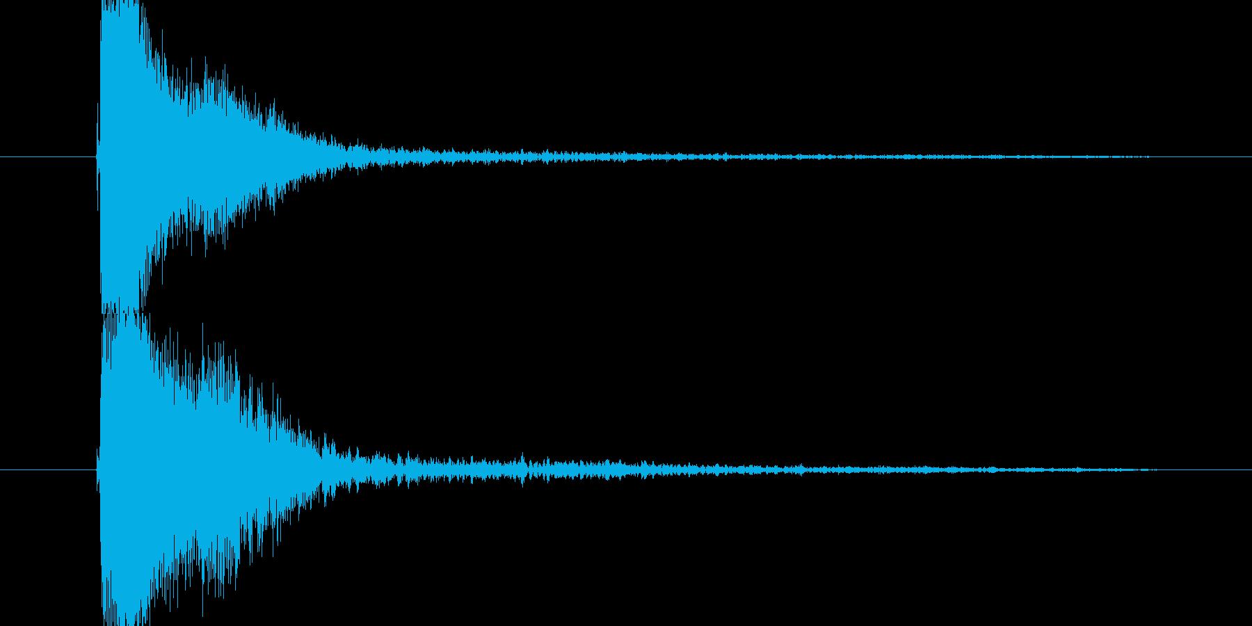 グワッシィーン恐怖の再生済みの波形