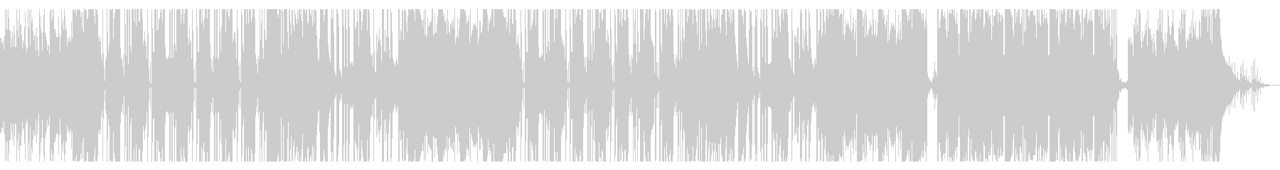 くるみ割り人形/ダウンテンポ/トラップの未再生の波形