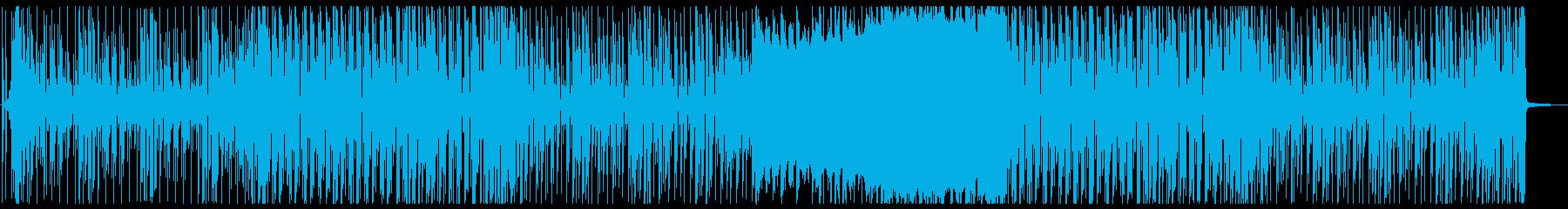 ゆるくて可愛らしいエレクトロポップの再生済みの波形
