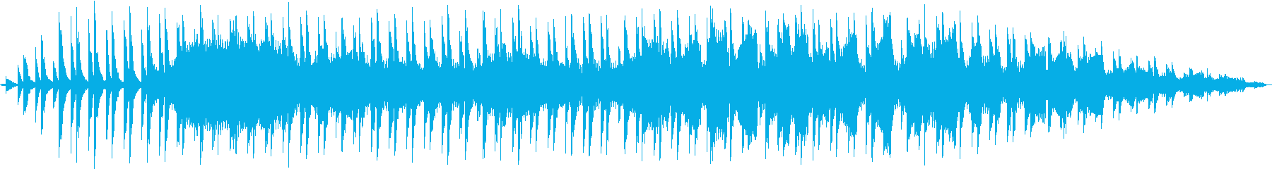 悲しい、切ない映像、CMにノイズとピアノの再生済みの波形