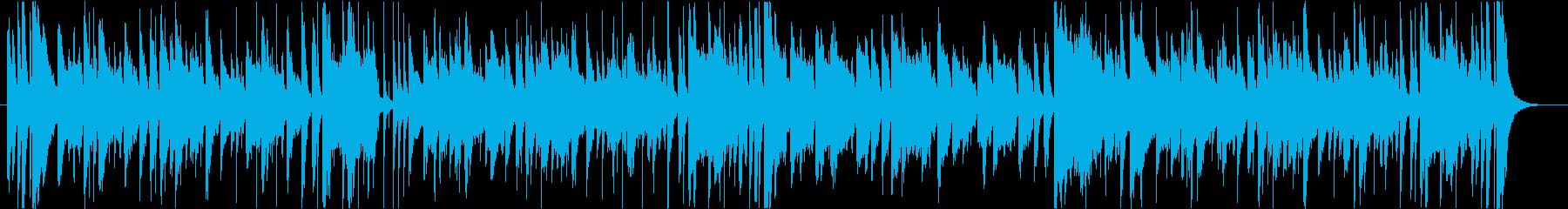 ブラスとピアノの軽快なジャジーTUNEの再生済みの波形