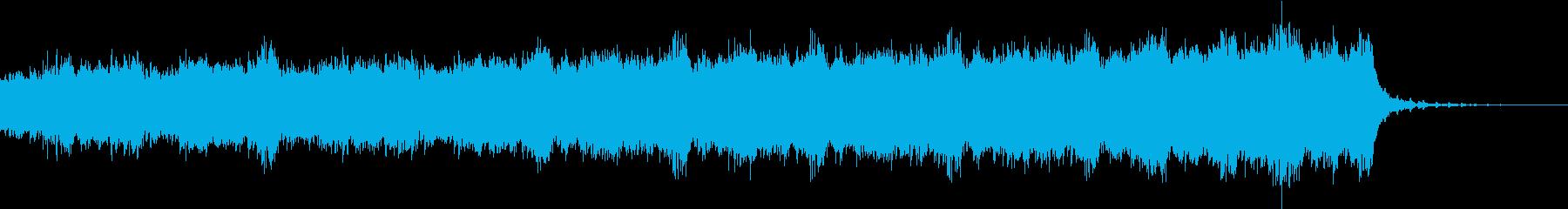 聴いてるだけで凍えそうなBGMの再生済みの波形