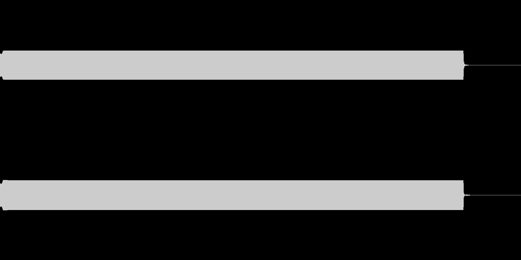 【電話 信号音01-4(発信)】の未再生の波形