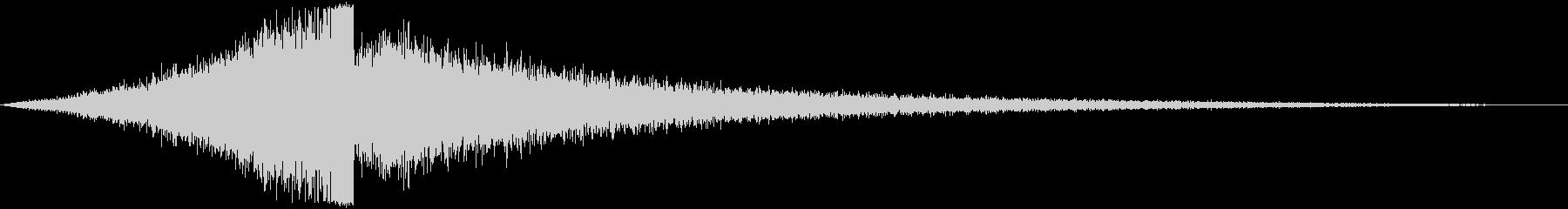 【タイトル】ダークシンセサウンド_08の未再生の波形