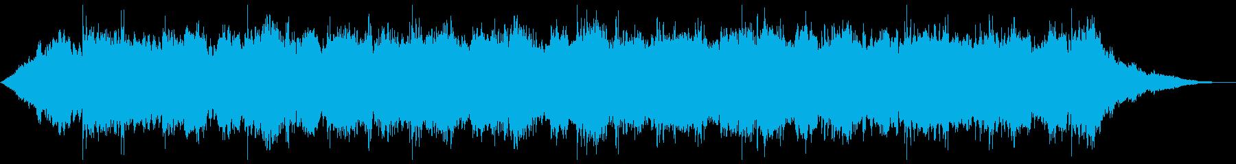 爽やかなリラクゼーションBGM1の再生済みの波形