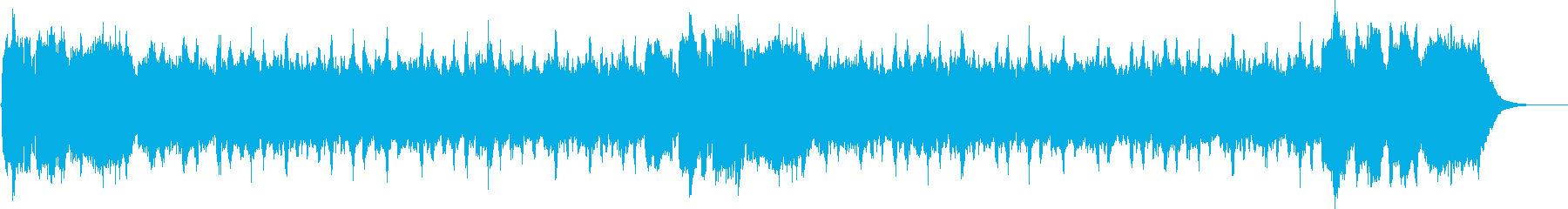 童謡こいのぼり パイプオルガンの再生済みの波形