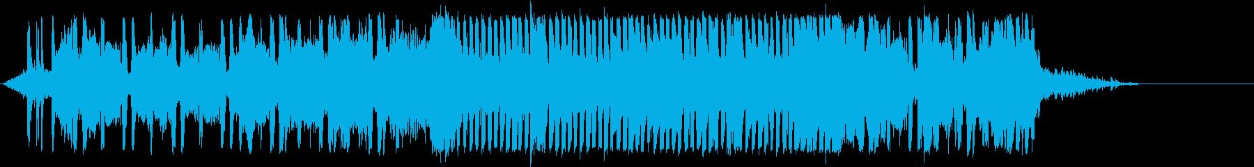 オープニングSE / EDM風/アイドルの再生済みの波形