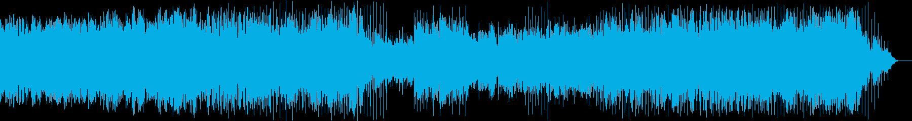 神秘的な雰囲気のアンビエント・ポップスの再生済みの波形