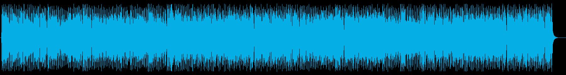 ワイルドでグルービーなシティポップの再生済みの波形