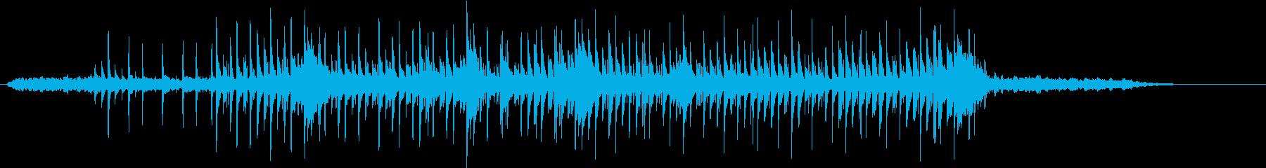 和風なサウンドとトラップビートの融合の再生済みの波形