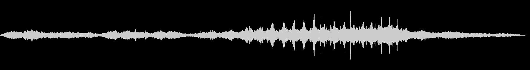 フレームドラムMtlスクレイプ3の未再生の波形