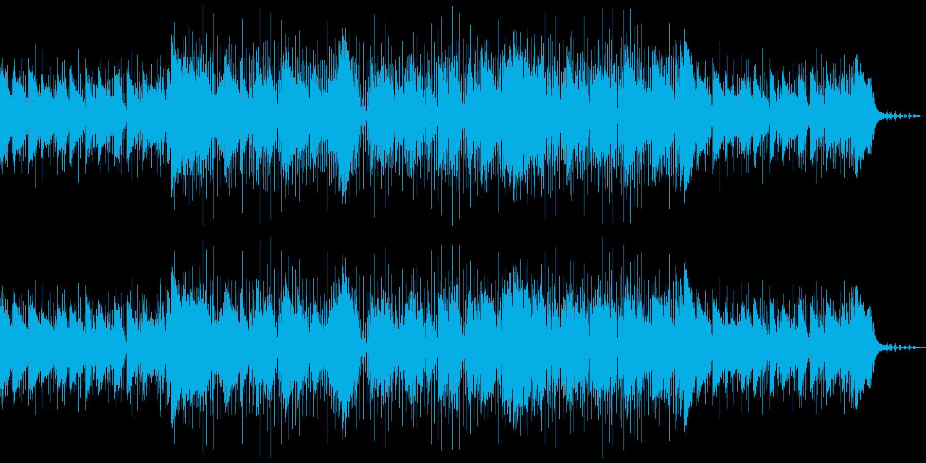 おしゃれな大人のジャズの再生済みの波形