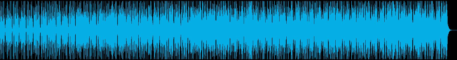 ミステリー・推理向けBGMの再生済みの波形