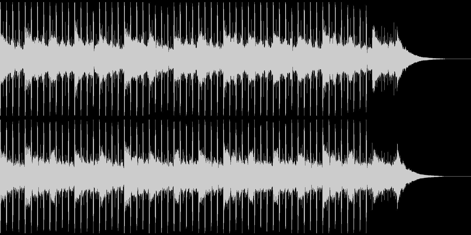 企業プレゼンテーション(38秒)の未再生の波形