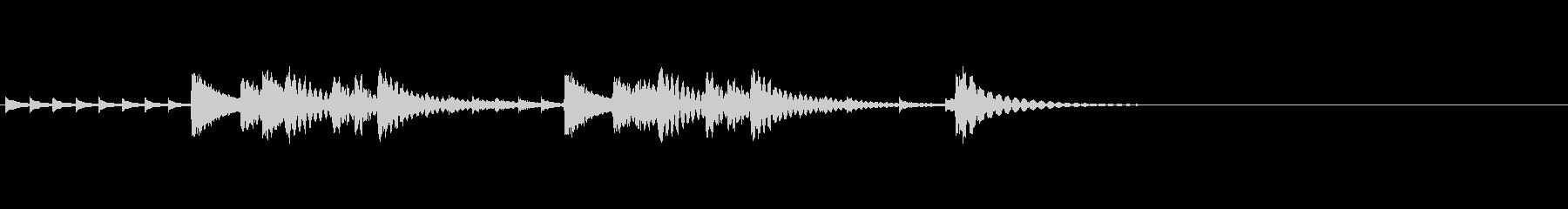 この曲は、阪急電鉄での期間限定企画乗…の未再生の波形