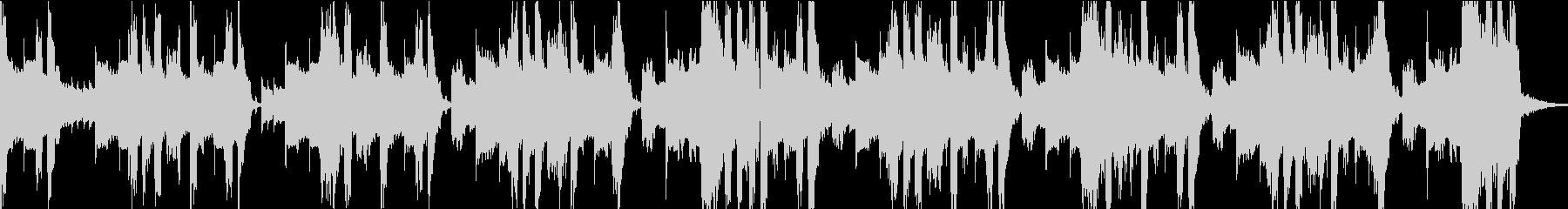 攻撃的なダブステップジングルの未再生の波形