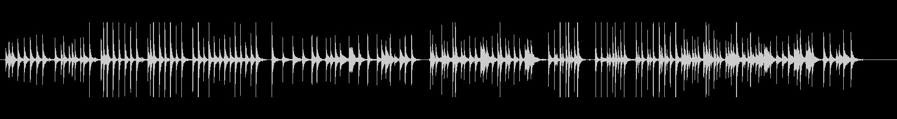 三味線232外記猿6小猿おさるさんサル投の未再生の波形