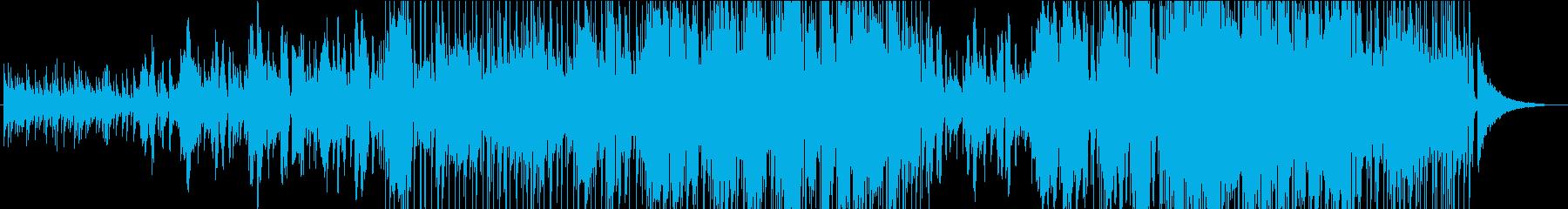 飛行場の再生済みの波形