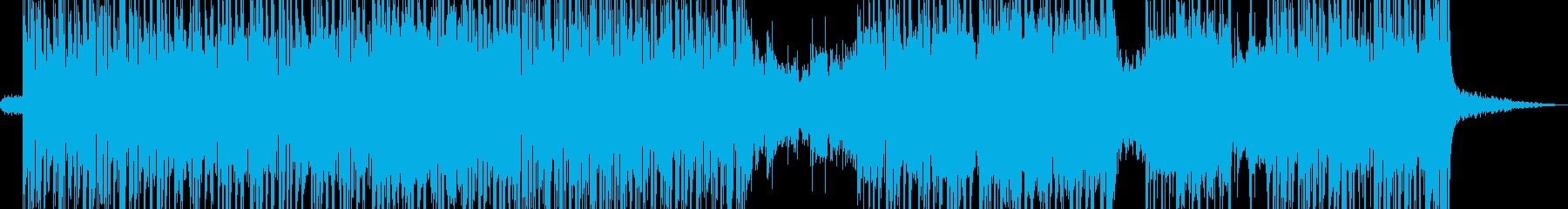 アジト・無機質アなグレッシブビート A2の再生済みの波形