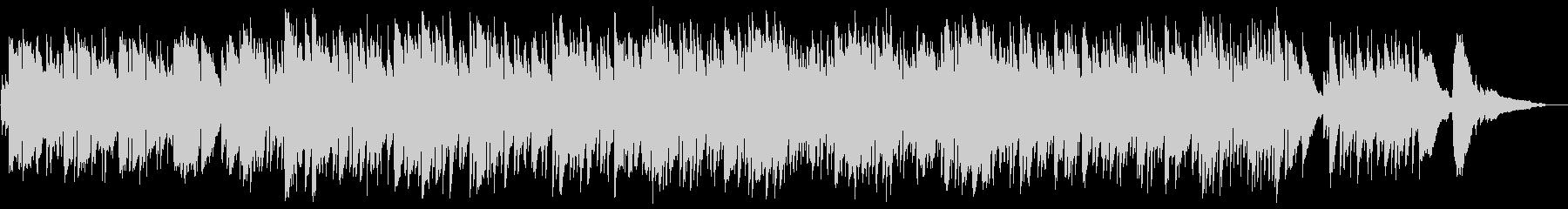ノスタルジックで切ないギターサウンドの未再生の波形