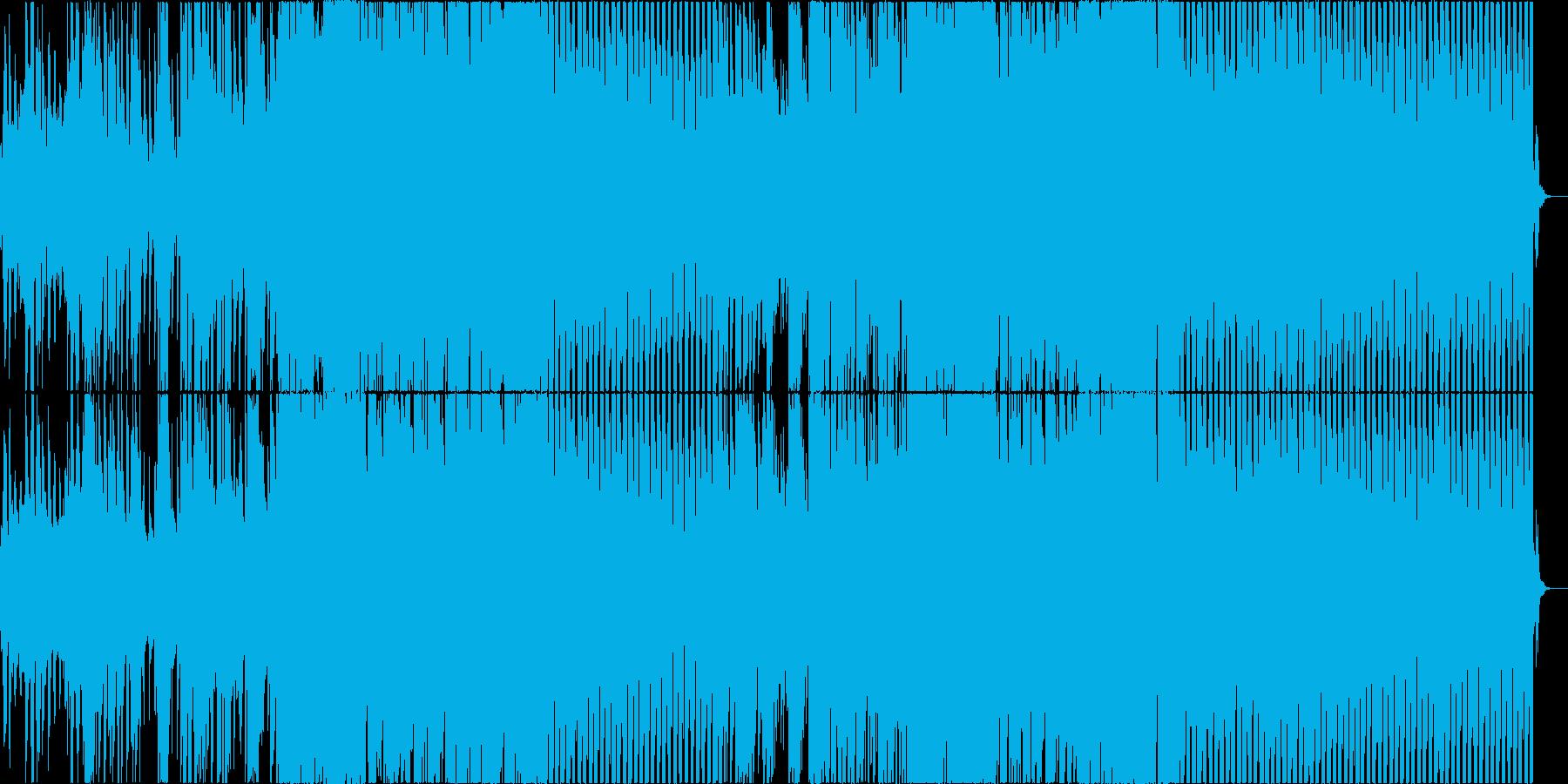 トロピカルハウスの貴公子風作品の再生済みの波形
