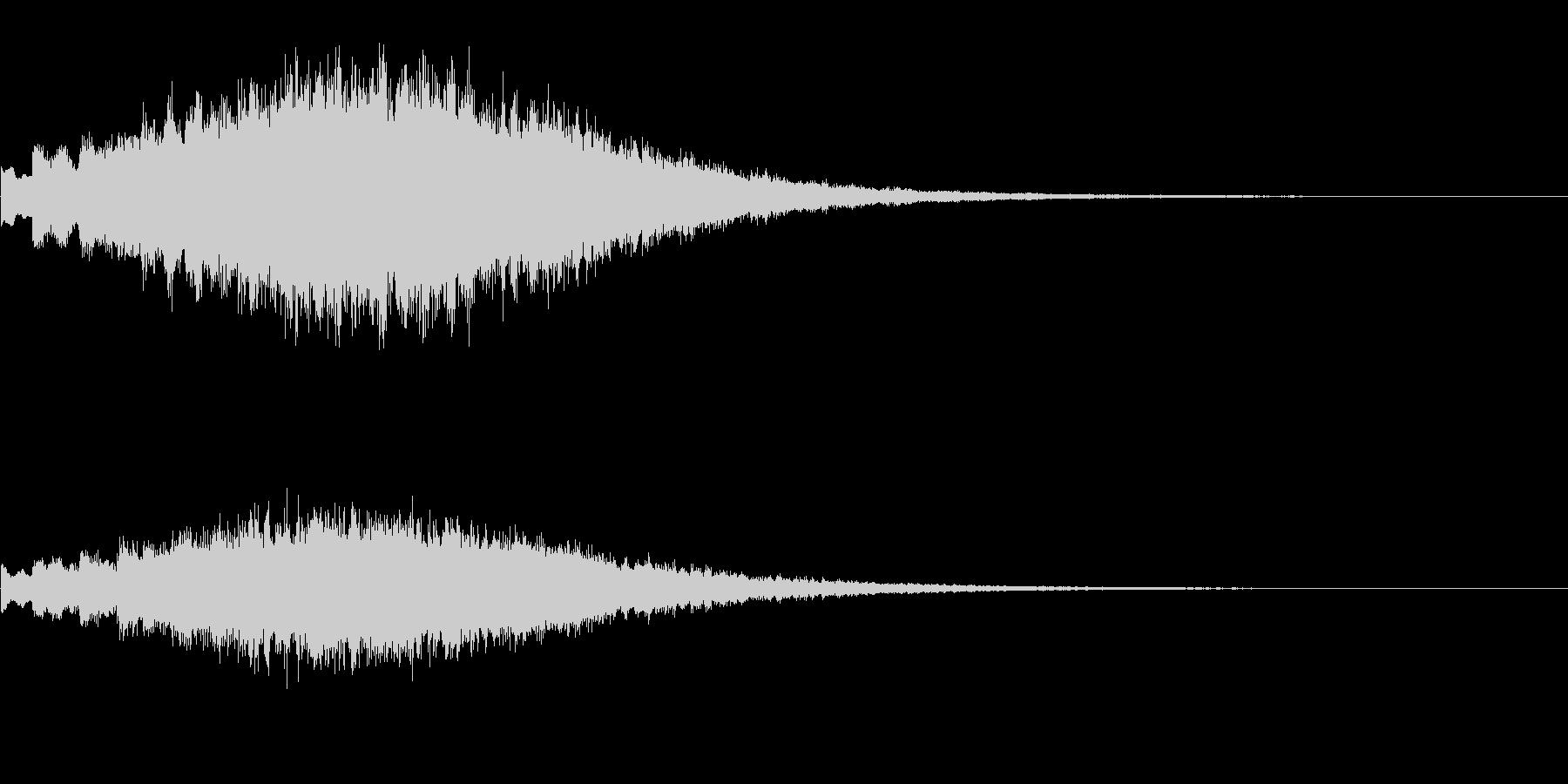 キラキラッ…(上昇/変身/場面転換)の未再生の波形