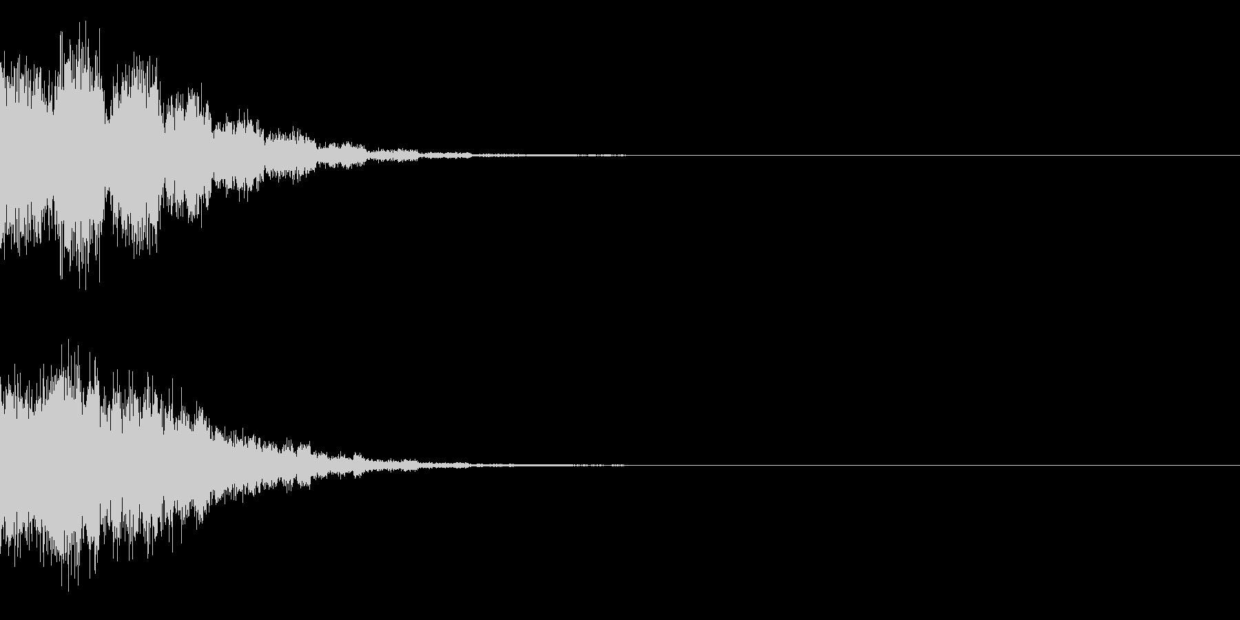 ビュンンの未再生の波形